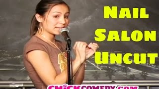 Anjelah Johnson- Nail Salon Uncut - ChickComedy (Funny Videos) - YouTube