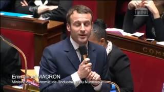Video Echange Vif entre Daniel Fasquelle et Emmanuel Macron sur la loi Macron MP3, 3GP, MP4, WEBM, AVI, FLV Mei 2017