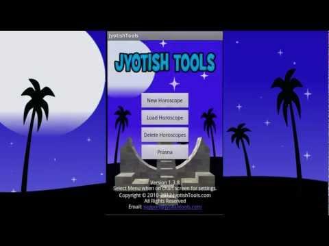 Video of Jyotish Tools