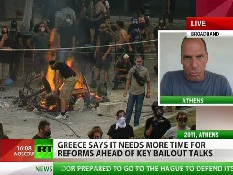 Greek Great Depression: 'Everybody going down into black hole'