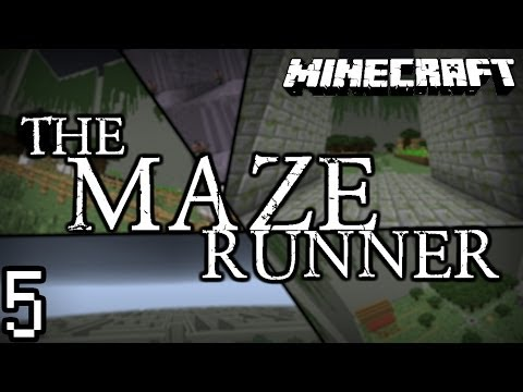 Minecraft: The Maze Runner w/ Ryan & Colin [Part 5]- Broken Endermen!