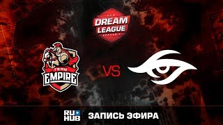 Empire vs Secret, DreamLeague Season 8, game 1 [v1lat, Dead_Angel]