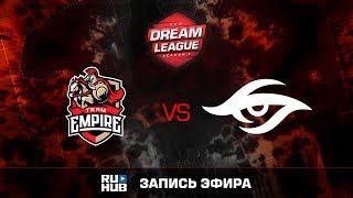 Empire vs Secret, DreamLeague Season 8, game 1 [v1lat, Dead_Angel]