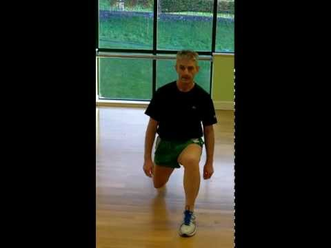 Stationary Lunge - Front View