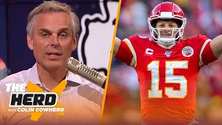 Colin Cowherd predicts Patrick Mahomes' career over the next 12 years | NFL | THE HERD by Colin Cowherd