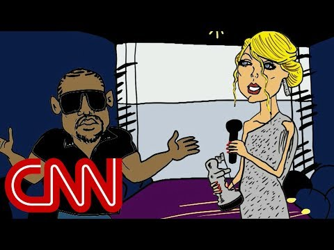 Video Kanye and Taylor Swift renew feud - Drawn by Jake Tapper download in MP3, 3GP, MP4, WEBM, AVI, FLV January 2017