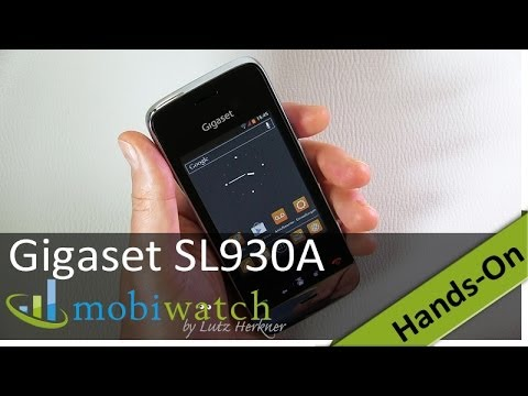 Gigaset SL930A im Hands-on-Video: Edles Dect-Telefon mit Android (Test)