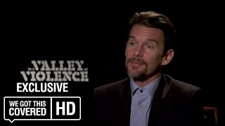 Exclusive Interview: Ethan Hawke Talks In A Valley of Violence [HD]
