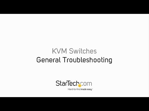 General Troubleshooting - KVM Switches | StarTech.com