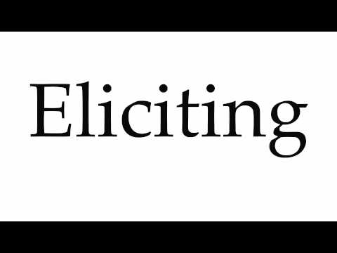 How to Pronounce Eliciting