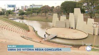 Após dois anos prefeitura finaliza obras no Parque Vitória Régia