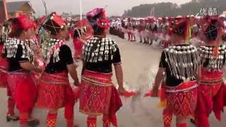 Dehong China  City new picture : Jingpo Manau Poi 2016,Dehong Prefecture, China