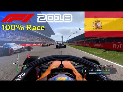 F1 2018 - Now We Can Fight With Fernando #5: 100% Race Spain