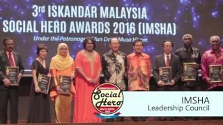 Iskandar Malaysia Social Heroes Award (IMSHA) 2016