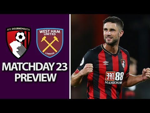 Video: Bournemouth v. West Ham | PREMIER LEAGUE MATCH PREVIEW | 1/19/19 | NBC Sports