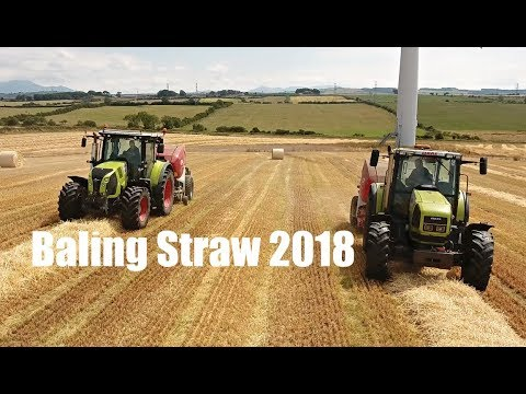 Baling Straw 2018 | A F J Sim Contracting