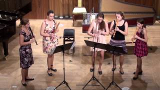 J.B.de Boismortier: Concerto h moll, op. 15/4 | Abateva | 21.6.2013