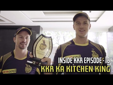 KKR Ka Kitchen King | Inside KKR - Episode 18 | VIVO IPL 2016