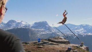 Base Jump Goes Horribly Wrong In Norway