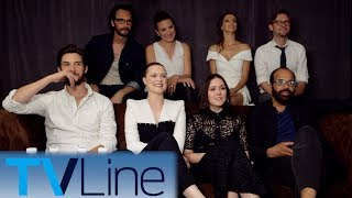 "Michael Ausiello chats with Evan Rachel Wood, Jeffrey Wright, and more of the ""Westworld"" cast--along with exec producer Lisa Joy--at Comic-Con 2017. ► http://bit.ly/TVLineSubscribehttp://tvline.comFollow Us On SocialTwitter http://twitter.com/MichaelAusiello, http://twitter.com/TVLineFacebook http://www.facebook.com/pages/TVLineGoogle+ http://plus.google.com/+TVLine"