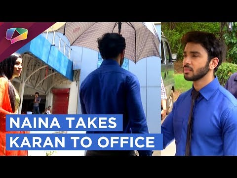 Naina Takes Karan To Office | Ek Shringaar Swabhim