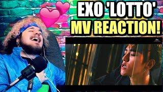 Video EXO 엑소 'Lotto' MV | BAEKHYUN'S LIP BITE IS TOO MUCH! | REACTION!! MP3, 3GP, MP4, WEBM, AVI, FLV Februari 2019