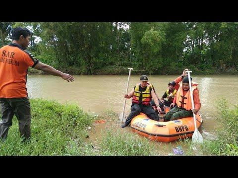 Pencarian Orang Hilang Di Sungai Rondokeli Pohkumbang Karanganyar | 8 Pebruari 2019