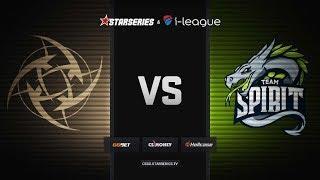 [RU] NIP vs Spirit   Map 1 – Mirage   StarSeries i-League Season 7