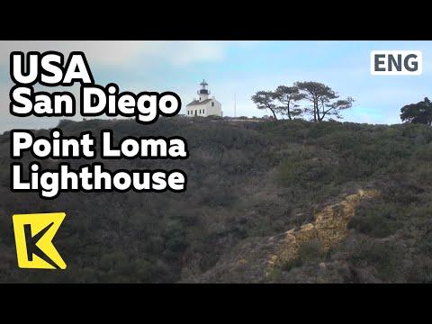 【K】USA Travel-San Diego[미국 여행-샌디에이고]카브리요 국립공원, 포인트 로마 등대/Point Loma Lighthouse/Cabrillo/Monument