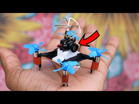 How To Make Drone with Camera At Home ( Quadcopter) Easy