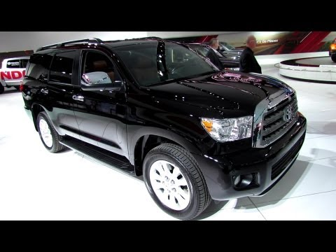 2013 Toyota Sequoia Platinum - Exterior and Interior Walkaround - 2013 Detroit Auto Show