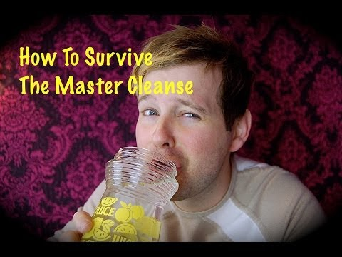 How To Survive The Master Cleanse