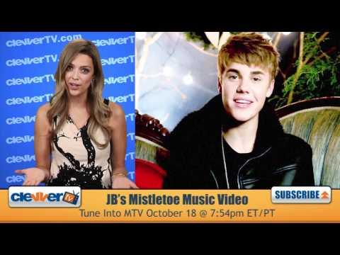 Justin Bieber's 'Mistletoe' Music Video Premiere