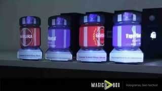 Mini pantallas Holográficas MagicBox
