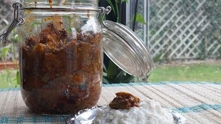 Lime & Green Chilli Pickle in Tamil