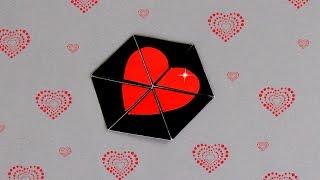 Download Lagu DIY - HEXAFLEXAGON ENDLESS CARD - TUTORIAL / DIY CARDS Mp3