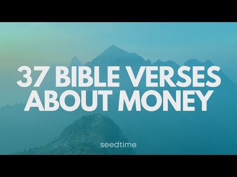 Bible quotes - 37 Bible Verses about money and finances