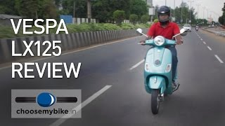 10. Vespa LX125 : ChooseMyBike.in Review