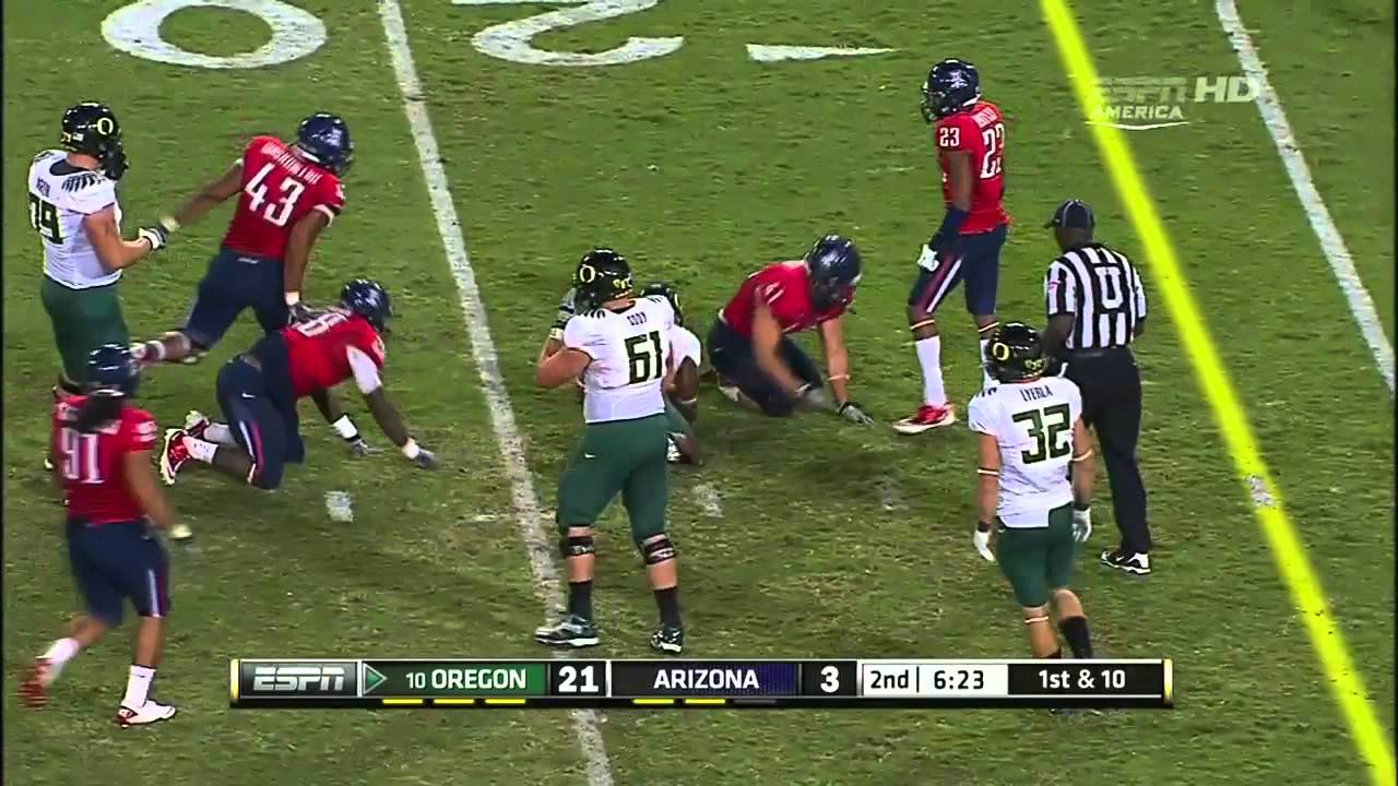 LaMichael James vs Arizona (2011)