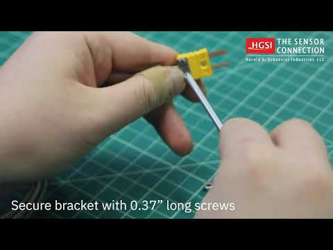 How to Install Mini Thermocouple Connector Clamp