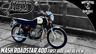 4. MASH Roadstar 400 First Ride and Review