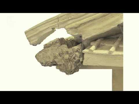 Der Tempel von Diana in Nemi: Tempel Model - Mythos in den griechischen und römischen Welten (1/5)