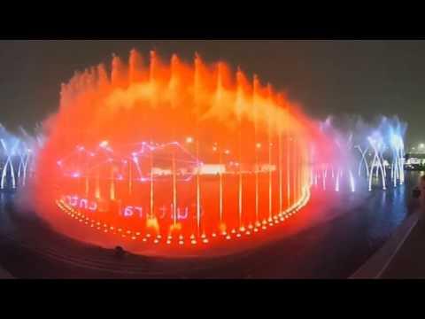 Watercube design - Kuwait City - 360° video