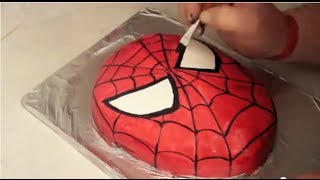 Video Spider-Man Cake ( How to ) MP3, 3GP, MP4, WEBM, AVI, FLV November 2017