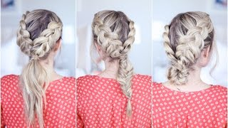 3-in-1 Double Dutch Braids| Build-able Hairstyle | Cute Girls Hairstyles by Cute Girls Hairstyles
