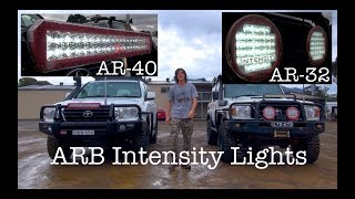 The brand new AR-40 intensity light bar just got put on the Drifta 200, so heres a comparison to the AR-32 Spot lights on the Drifta ...