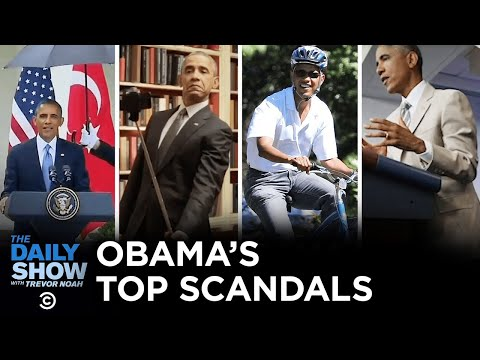 The Most Scandal-Plagued Presidency Ever - A Look Back | The Daily Show