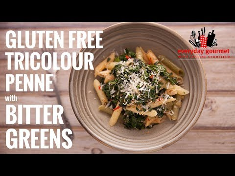 San Remo Gluten Free Tri Colour Penne with Bitter Greens | Everyday Gourmet S6 EP41
