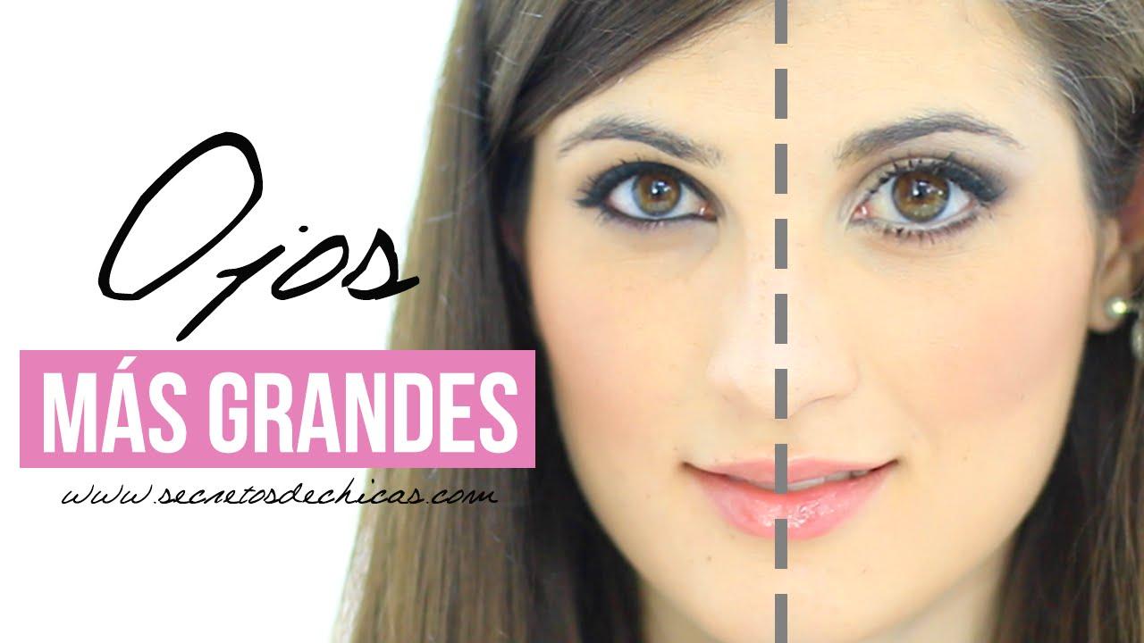 Cómo hacer que tus ojos se vean mas grandes | Maquillaje