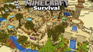 Minecraft 1.15 Survival : How to Make a Build Feel More ALIVE : Creating Atmosphere